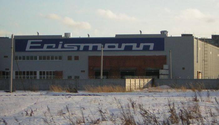 Фабрика по производству обоев Эрисманн
