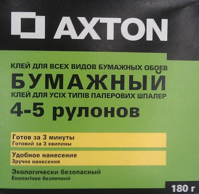 Бумажный клей Акстон