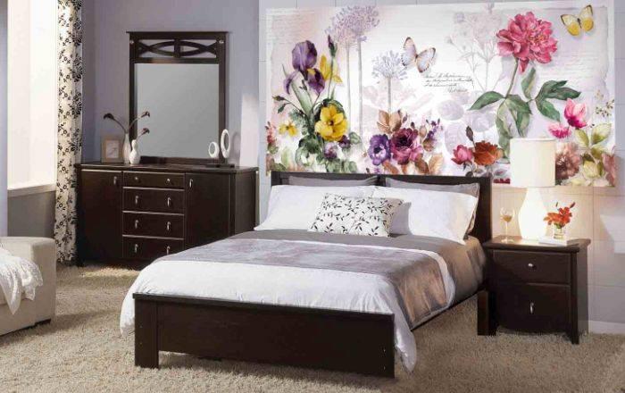 Фотопанно в спальне