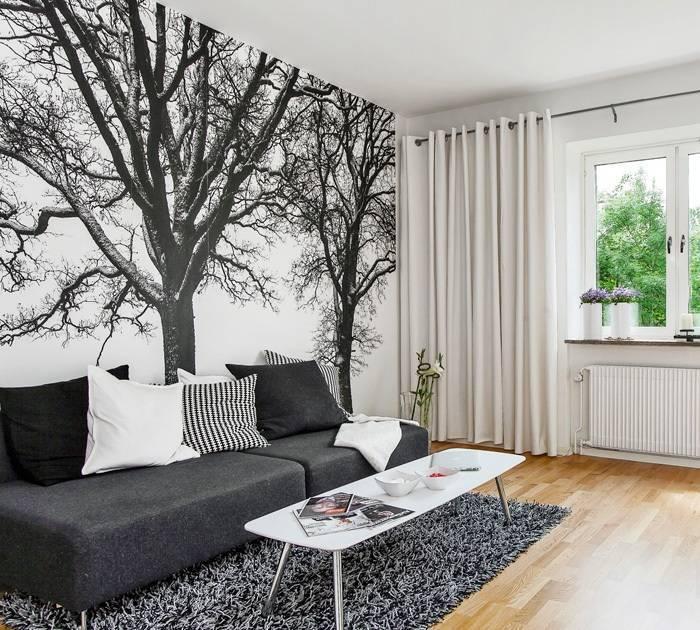 Фотообои с деревьями