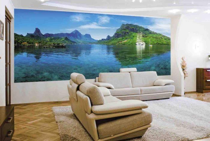 Фотообои с водным пейзажем