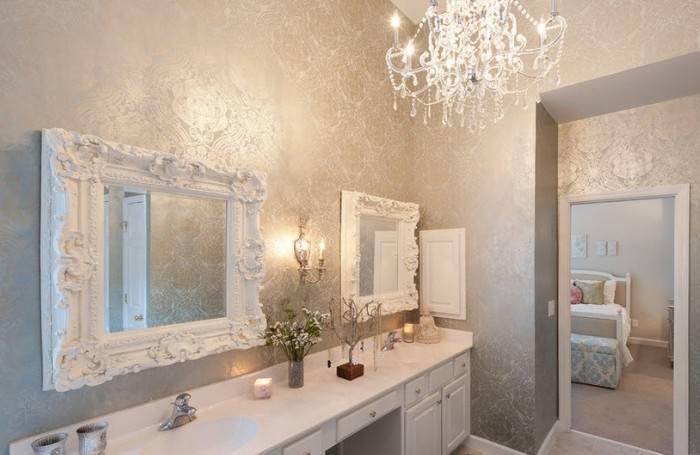 Шелкография в ванной комнате