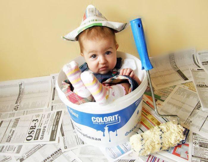 Ребенок съел обойный клей