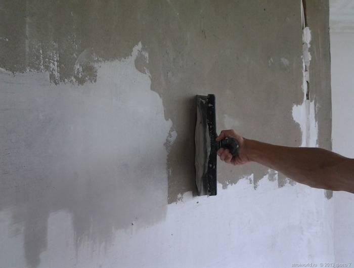 Выравнивание стен под обои