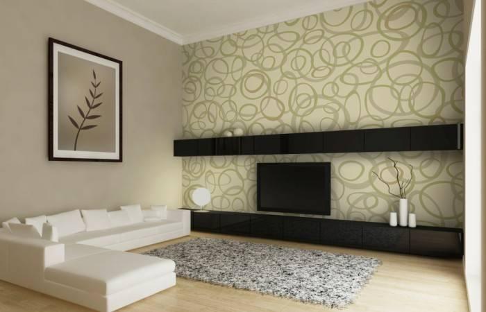 Простой дизайн для гостиной