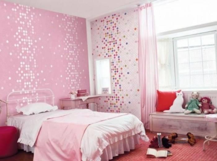 Создание акцента на розовом цвете в спальне