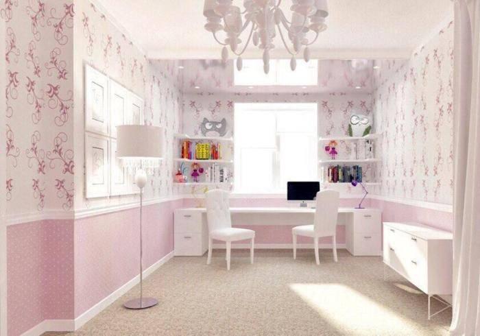 Интерьер детской комнаты в светлых тонах