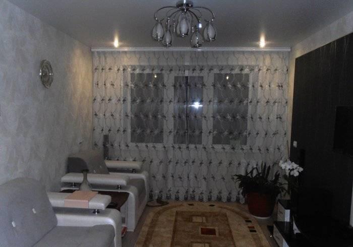 Обычная гостиная обычного панельного дома