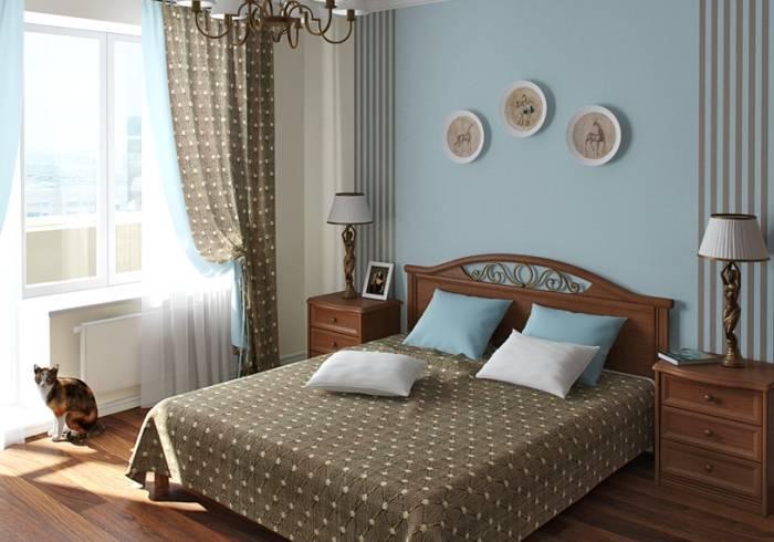 Использование дизайнерских приемов в интерьере спальни