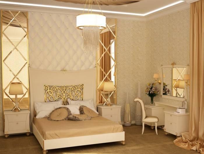 Комната наполнена духом расслабления