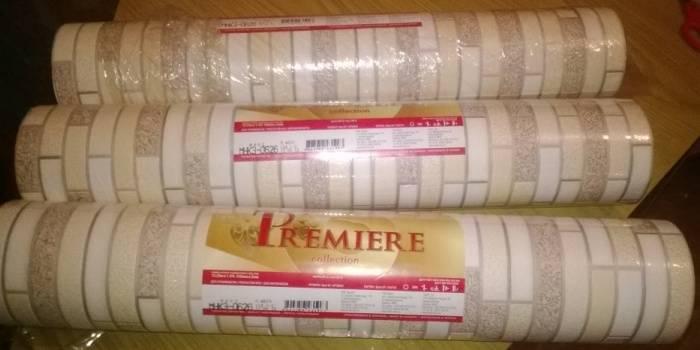 Украинские виниловые обои на бумаге