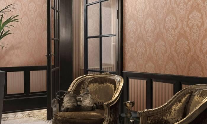 Отличный классический интерьер гостиной