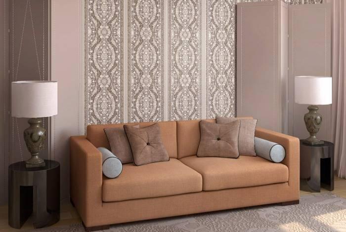 Простой дизайн комнаты для гостей