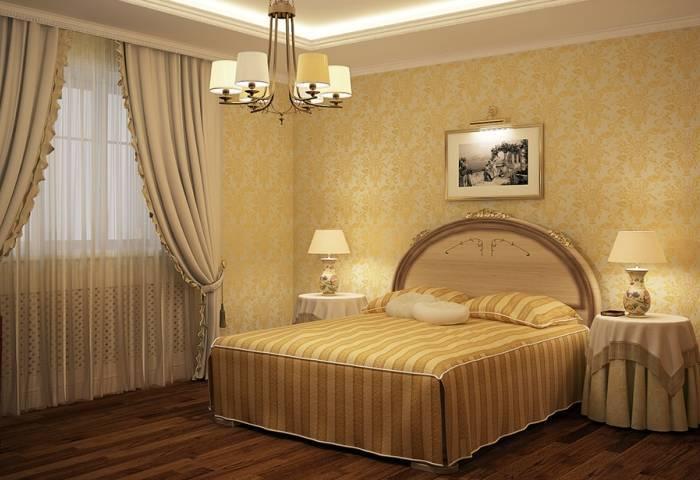 Шелкография в спальне