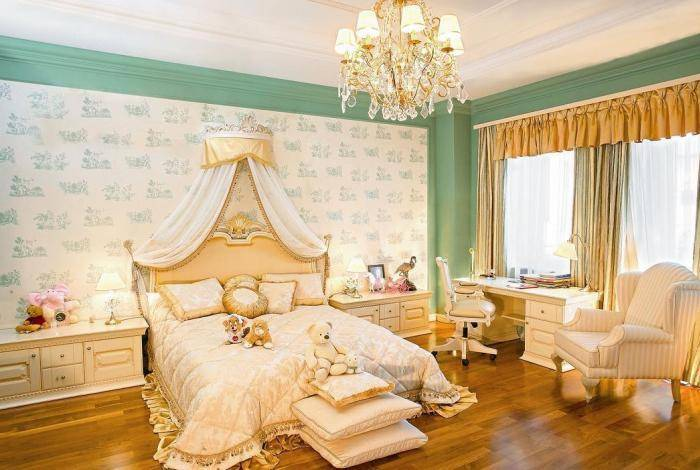 Роскошная детская спальня