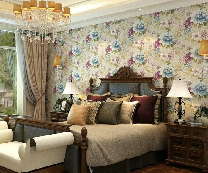 Интересное дизайнерское решение для спальни