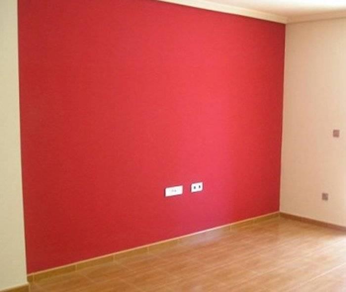 Удачная покраска стены