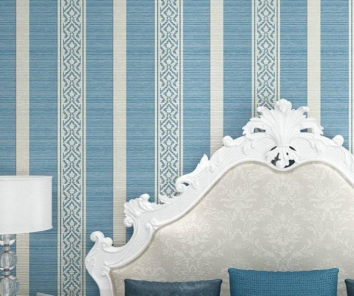 Спальня в приятных синих цветах