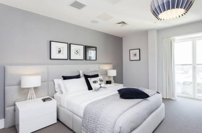 Сбалансированный дизайн спальни