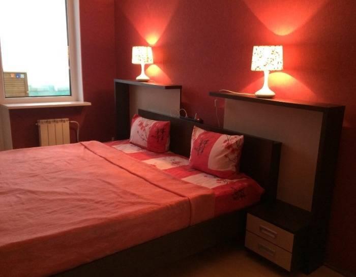 Спальня в обычном доме