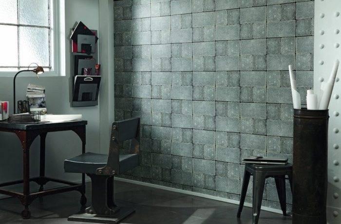 Специфический дизайн комнаты в стиле Лофт