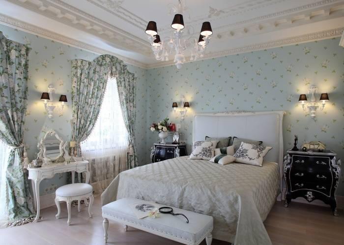Большая роскошная спальня