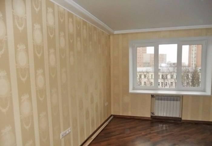 Торжественное окончание ремонта, комната готова