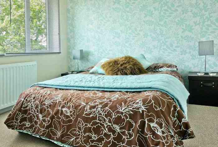 Качественно сделанный дизайн спальни