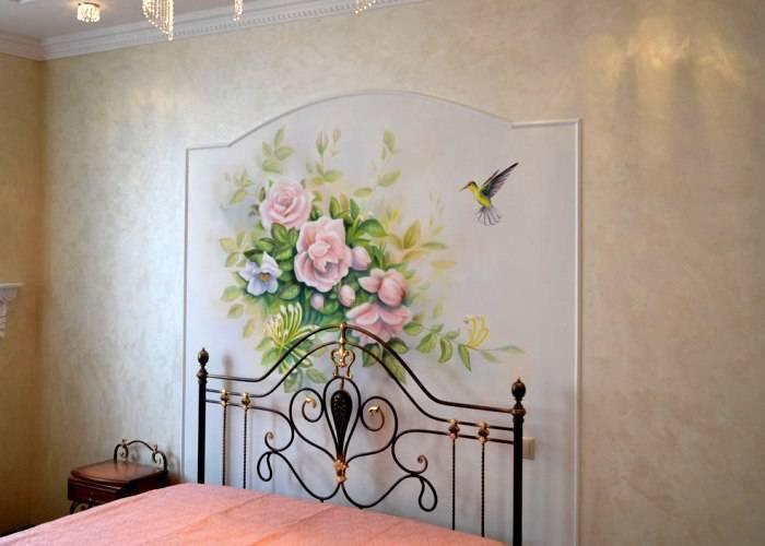 Интерьер спальни в стиле Романтизм