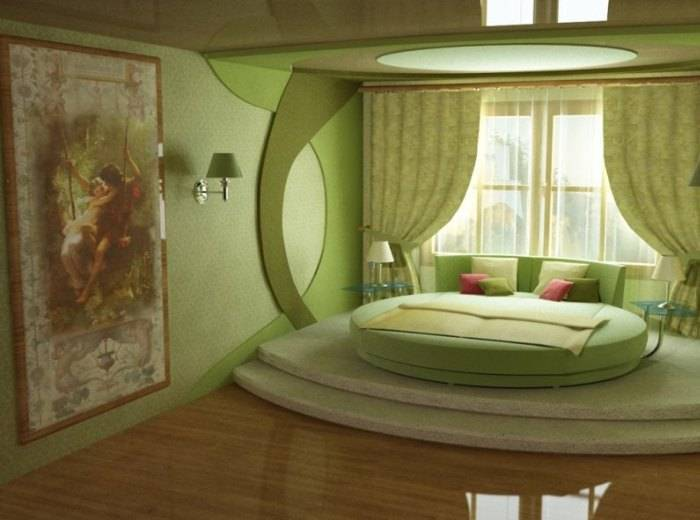 Дизайн-проект странной спальни