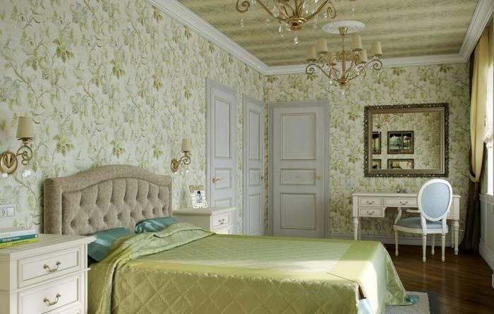 Роскошь и шик в интерьере спальни