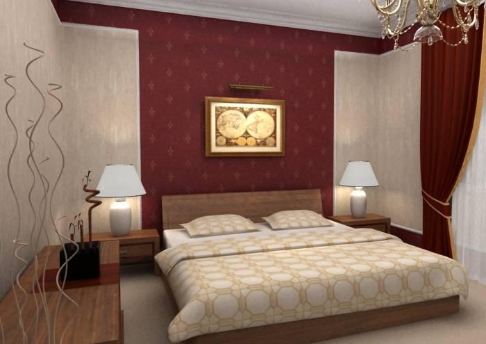 Идеи для обоев в спальню