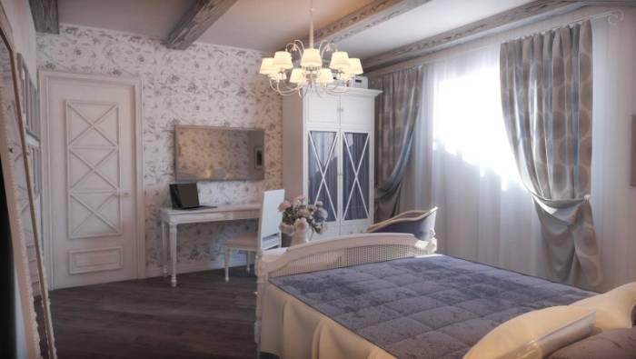 Применение стиля Прованс для спальни