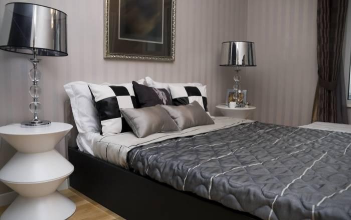 Аккуратный интерьер маленькой спальни