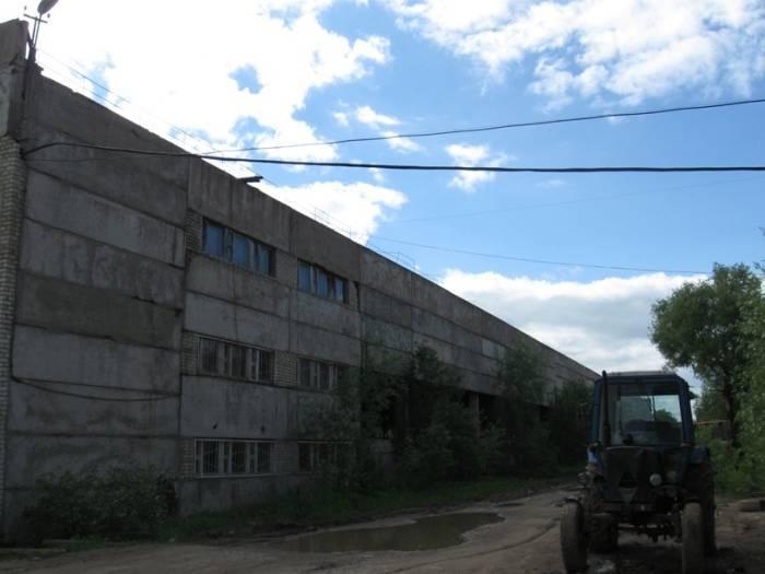 Старая, брошенная обойная фабрика ТБП