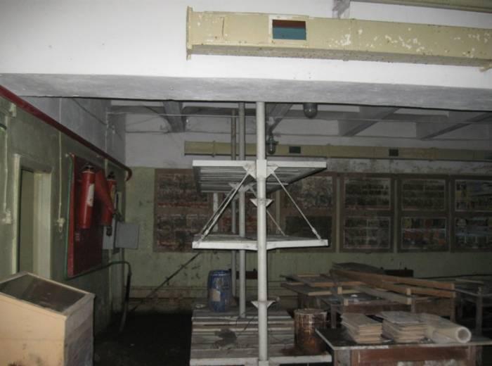 Заброшенный цех обойной фабрики ТБП