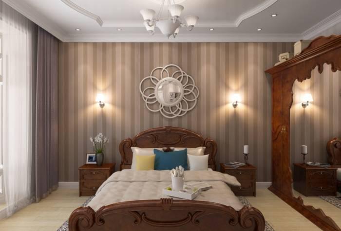 Хорошо подобранные цвета для спальни