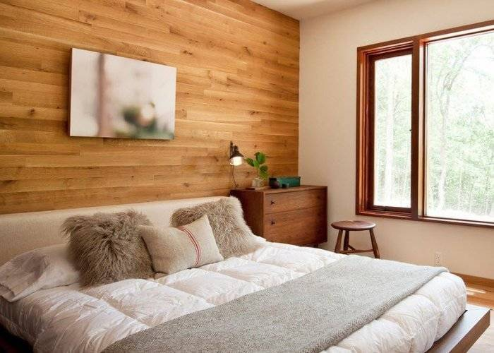 Чем отделать стены в спальне кроме обоев