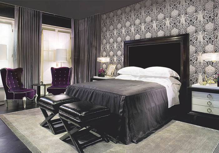 Впечатляющий интерьер спальни