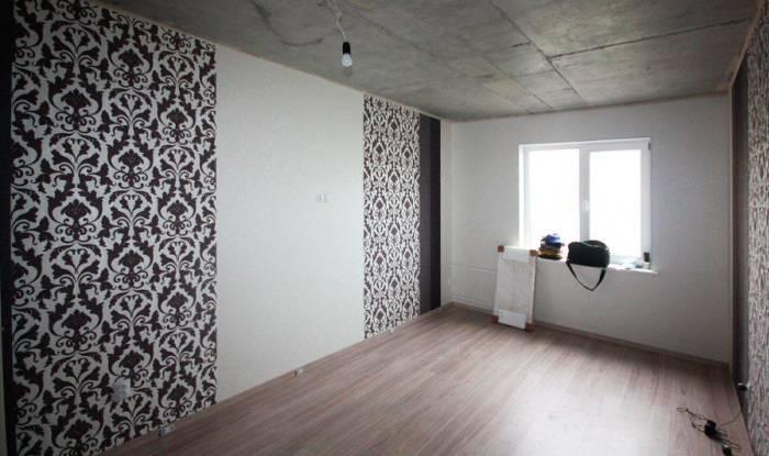 Применение флизелиновых обоев для стен