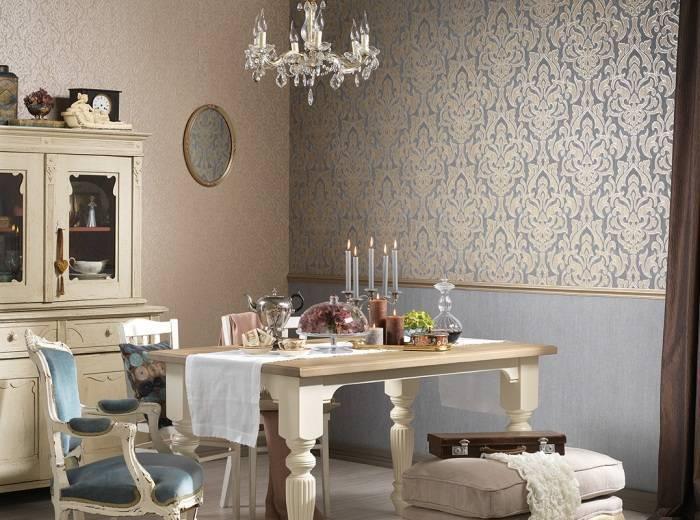 Интерьер роскошной столовой