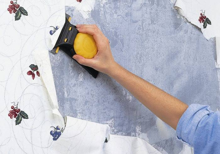 Устройства для удаления обоев со стены