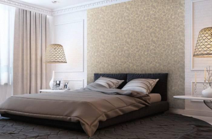 Качественно продуманный интерьер спальни