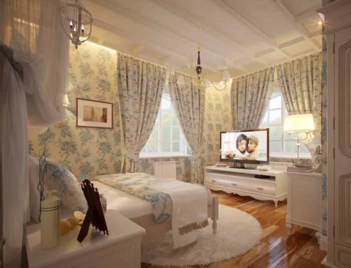 Использование светлых тонов в дизайне спальни