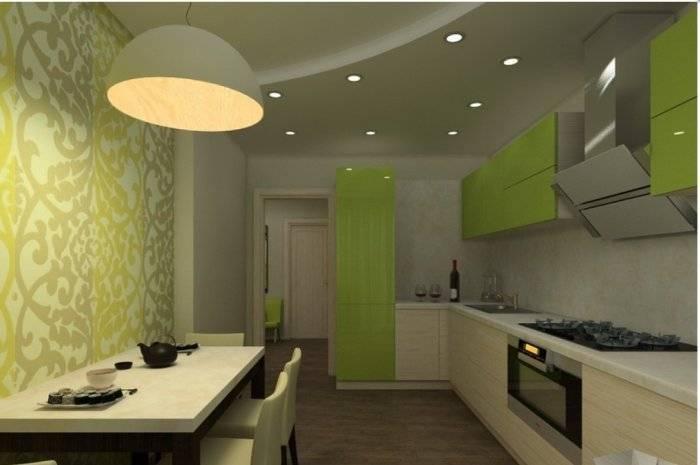 Типичная небольшая кухня в многоэтажке