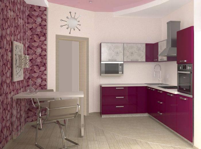 Классический интерьер небольшой кухни
