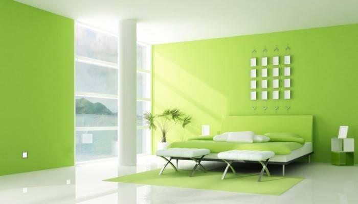 Использование обоев под покраску для создания современного интерьера