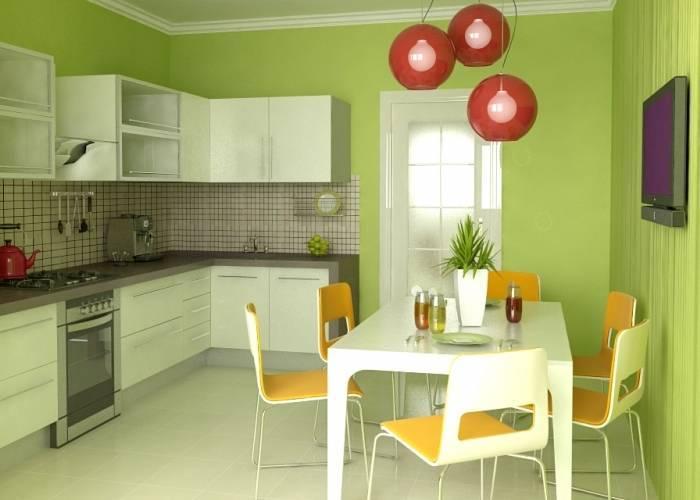 Использование краски оливкового цвета