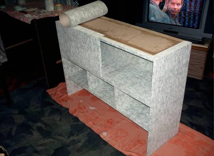 Домашнее декорирование мебели