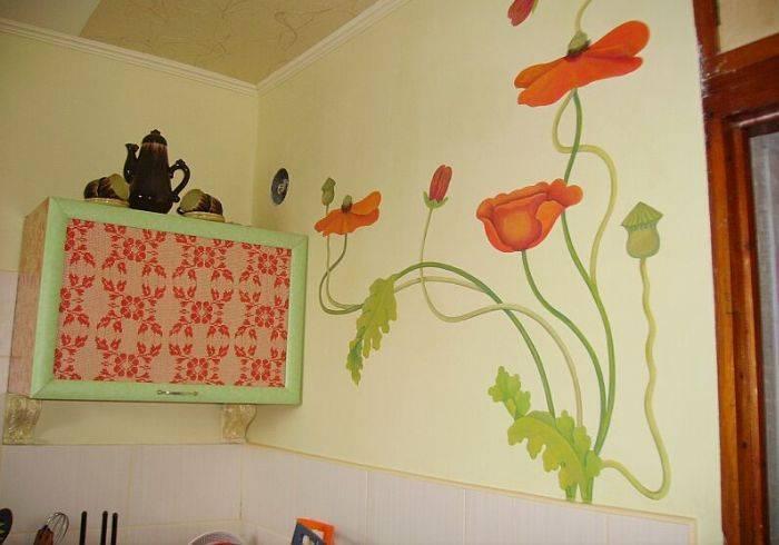 Декорирование кухни в домашних условиях